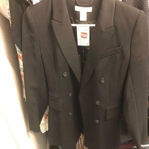 H&M black womens blazer